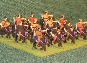 25mm Hun Light Cavalry 12 Figures
